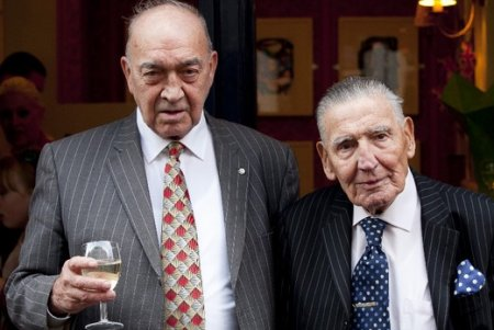 Eddie with Frankie Fraser - 2012